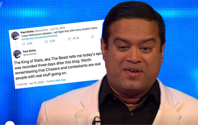 Paul Sinha has hit out at trolls