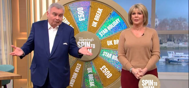 Ruth Langsford and Eamonn Holmes in awkward This Morning blunder as competition goes wrong live on air