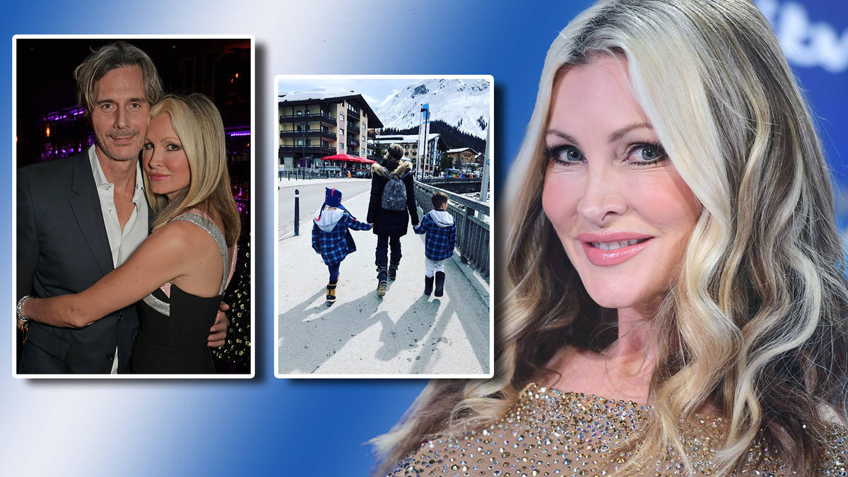 Dancing On Ice 2019: Who is Caprice Bourret married to? Meet model's millionaire... - Heart
