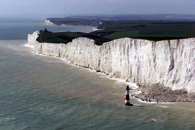 Flesh and Blood is filmed in Beachy Head in Eastbourne
