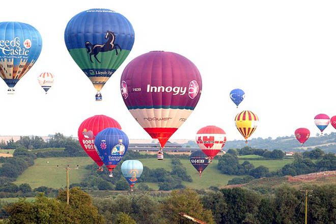 Treat your loved one to a hit air balloon ride