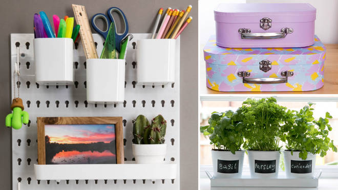 Poundland's new storage range is perfect for people on a decluttering mission in 2020