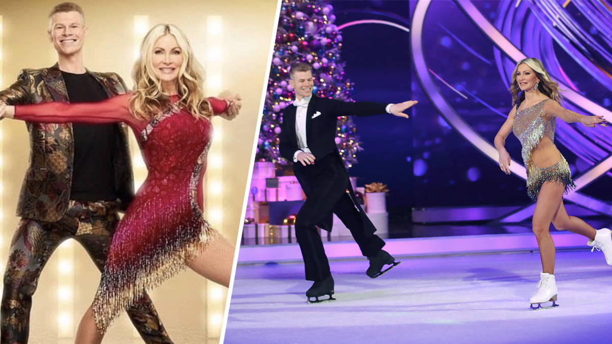 Dancing On Ice: What happened to Caprice Bourret? Viewers demand answers as she 'parts... - Heart