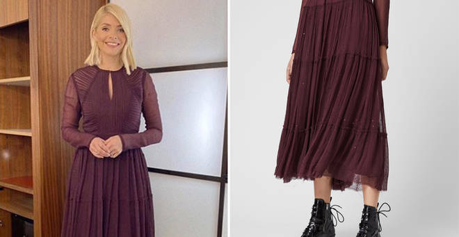 Holly Willoughby's dress is in the sale