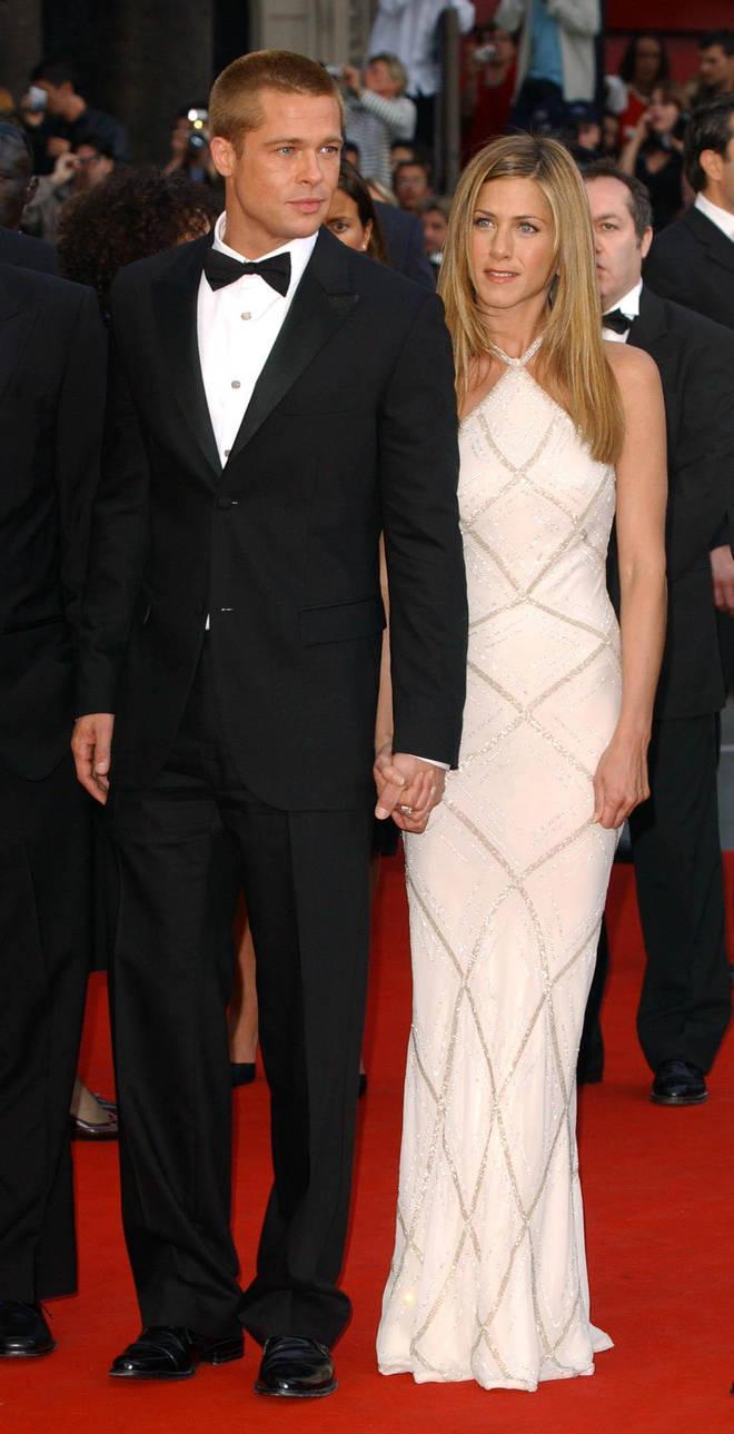 Brad and Jennifer split in 2005