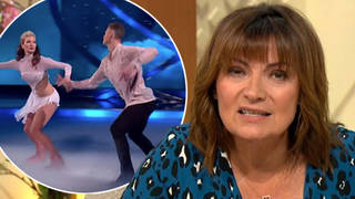 Lorraine 'let slip' Caprice won't be back on Dancing On Ice