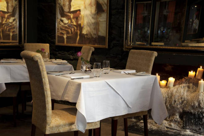 Stockbridge Restaurant has great food and a warm and cosy atmosphere
