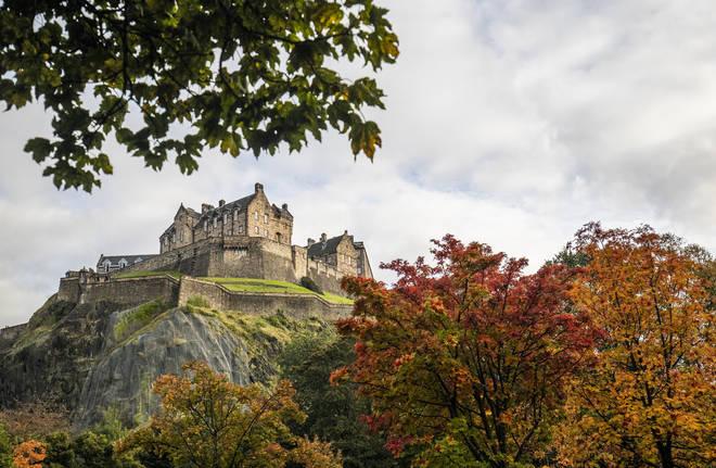 Edinburgh Castle is beautiful all year round