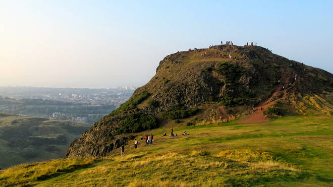 Escape the busy city with a trek up to Arthur's Seat