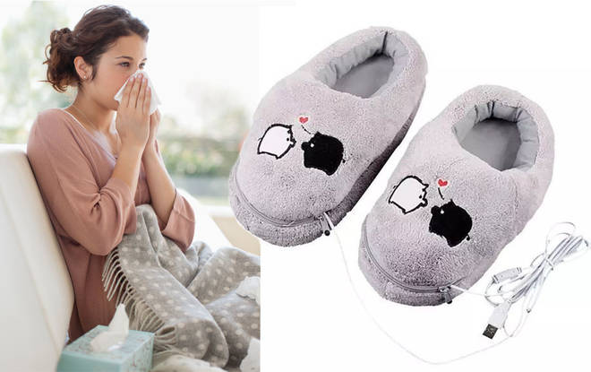 The cosy slippers are an absolute bargain