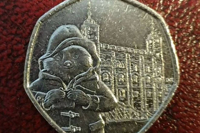 This particular Paddington coin fetched £300 on eBay