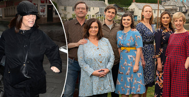 Dawn French is starring in latest drama 'The Trouble with Maggie Cole'