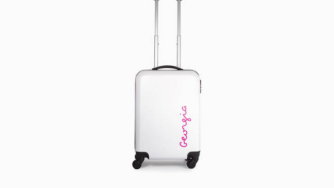 Love Island suitcase