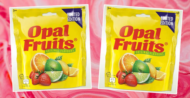 Opal fruits are returning to the UK