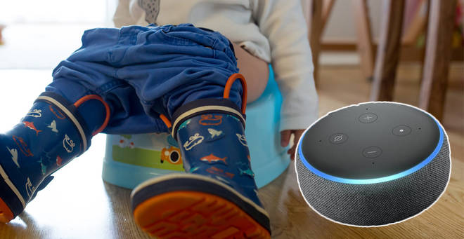 A mum has revealed her Alexa hack to potty training