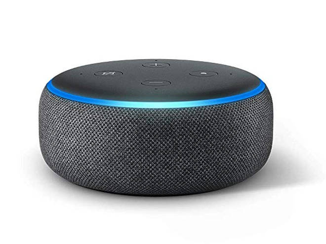 Echo Dots are sold for around £50 from Amazon