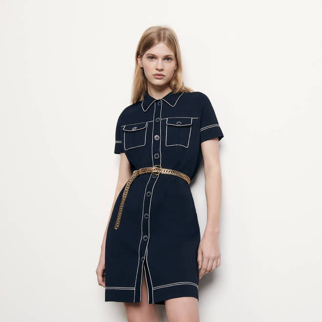 This dress from Sandro Paris is £260