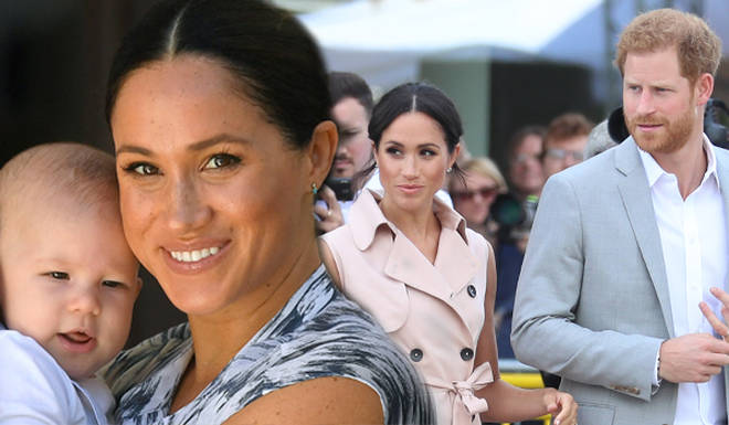 Meghan and Harry have issued a legal warning to paparazzi