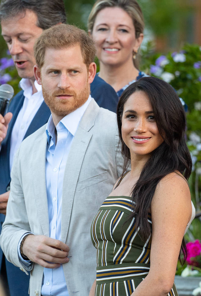 The Duke and Duchess of Sussex are taking action after long-lens pictures of Meghan were published