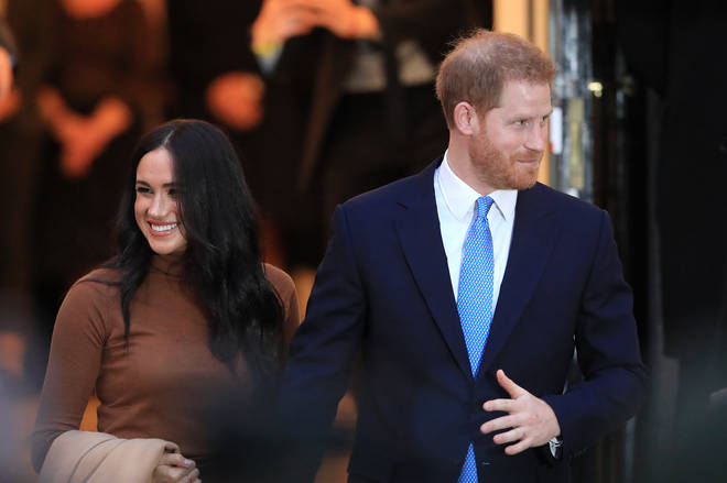 Meghan and Harry announced they were stepping down from Royal duties