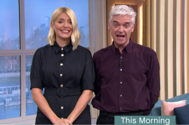 Ruth did not meet the presenting duo at the This Morning studio and instead just did a link from the Loose Women studio