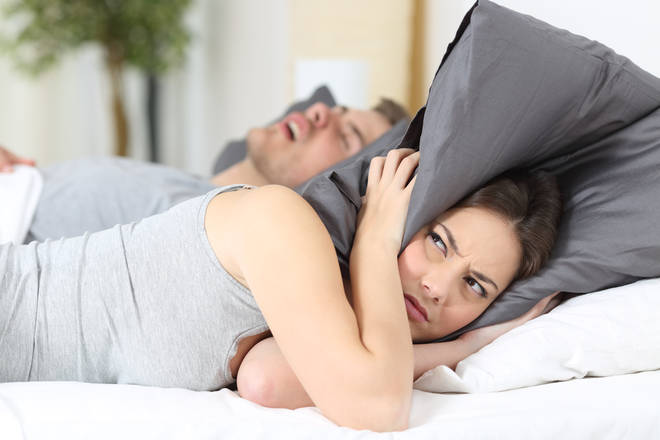 If your partner snores flat out then you might want to get them one of these