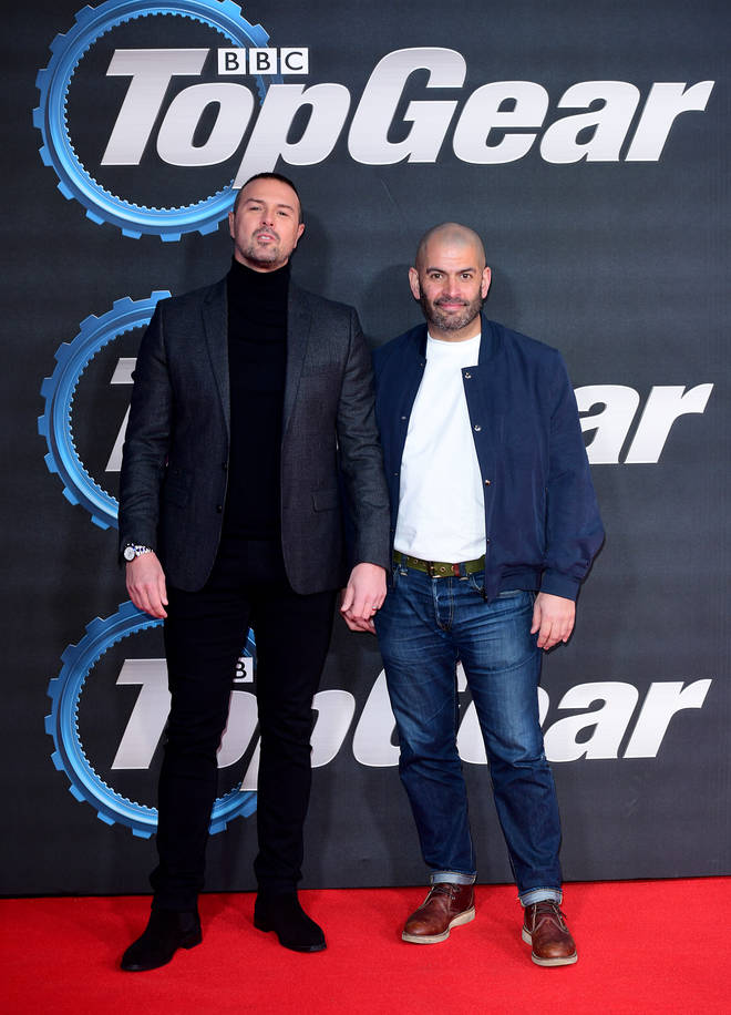 Paddy and Chris were at the Top Gear premiere the night before