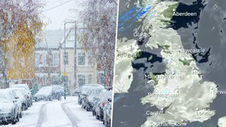 There could be snow this weekend