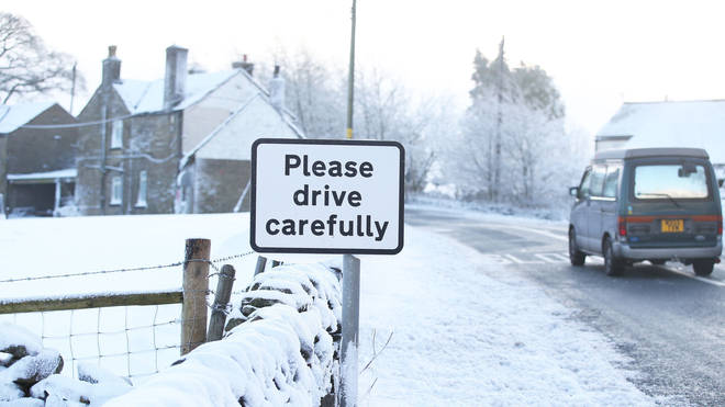 Snow could cause havoc in the north