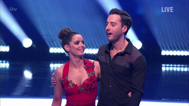 Maura's currently competing on Dancing on Ice and spends a significant amount of time with the star
