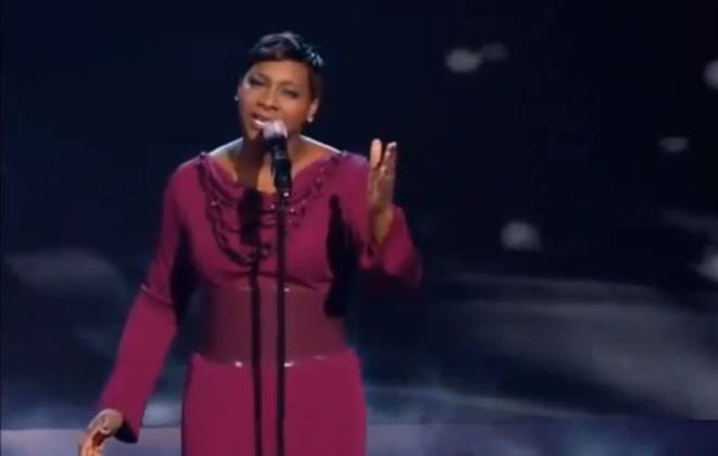 Beverly performed a Whitney Houston classic on the show