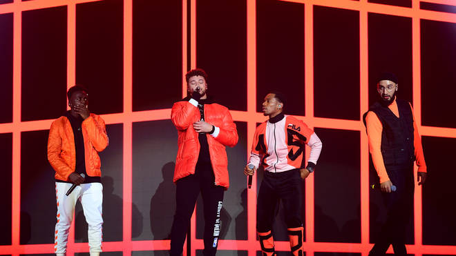 Myles rose to fame as part of band Rak-Su on The X Factor in 2017