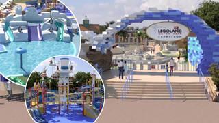 Inside the new Legoland waterpark