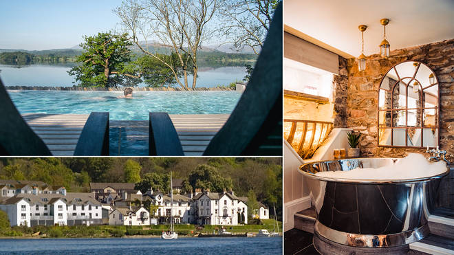 There is so much to do and see around Low Wood Bay - but relaxing was top of our agenda