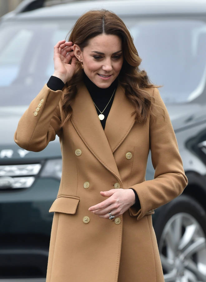It seems Kate has taken inspiration from sister-in-law Meghan Markle with this jewellery choice
