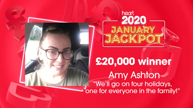 Amy is heading off on holiday after holiday after her £20,000 win