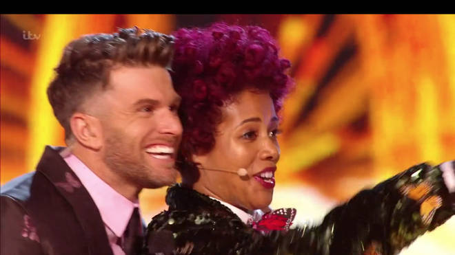Kelis was unmasked on tonight's Masked Singer