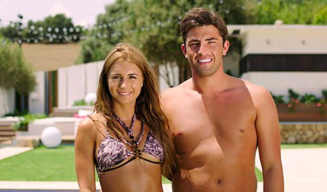 Jack Fincham and Dani Dyer