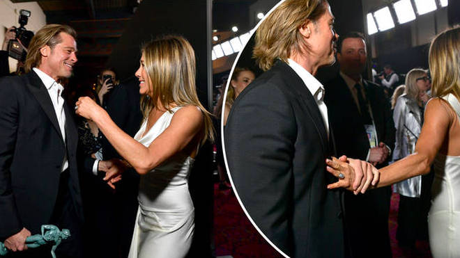 Jennifer Aniston and Brad Pitt are 'back in love' after 'at least five dates and a secret tryst'