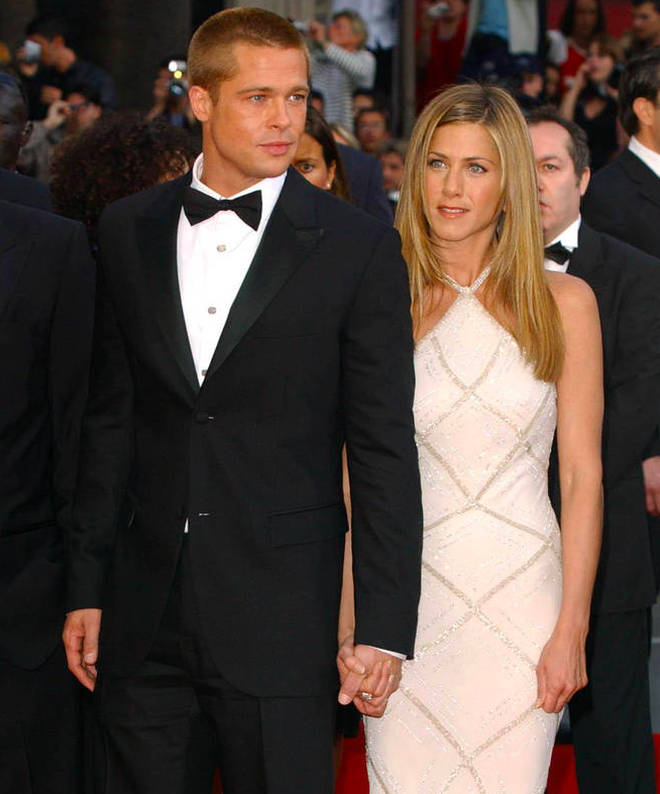 Brad Pitt and Jennifer Aniston split in 2005