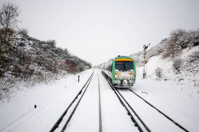 Railways could be affected by the snow