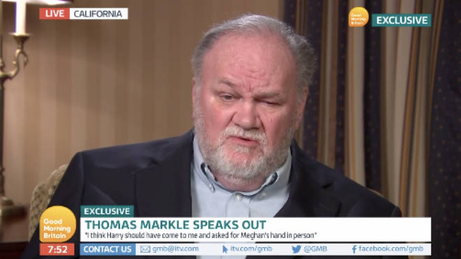 Thomas Markle did an interview on GMB