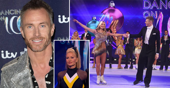James Jordan has waded into the Dancing On Ice drama