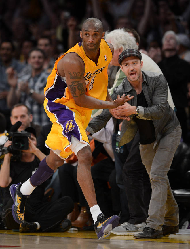 Kobe and his daughter died in a helicopter crash on Sunday morning