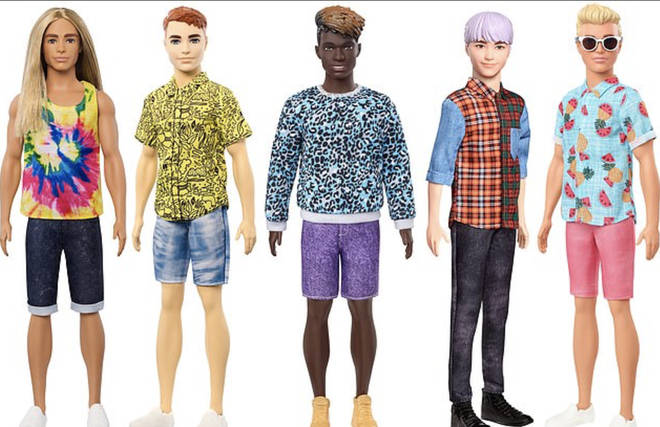 Male dolls are also represented