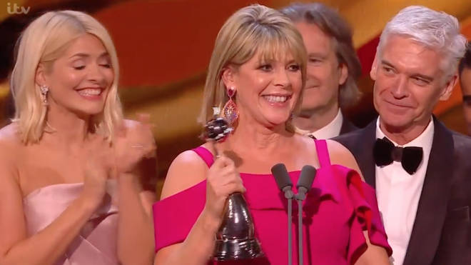 Phillip offered Ruth the opportunity to speak during their NTA speech