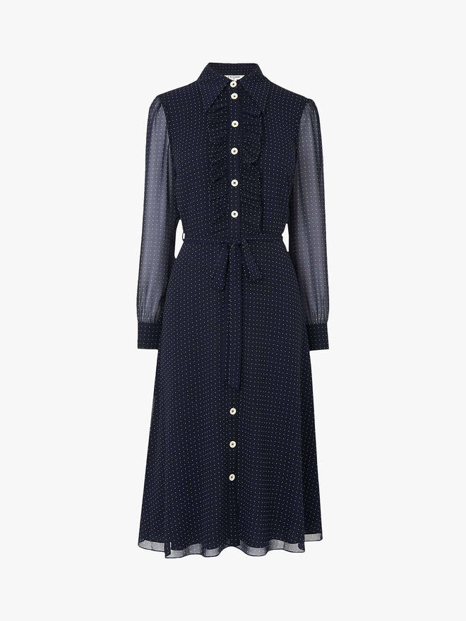 L.K. Bennett's dress is £225