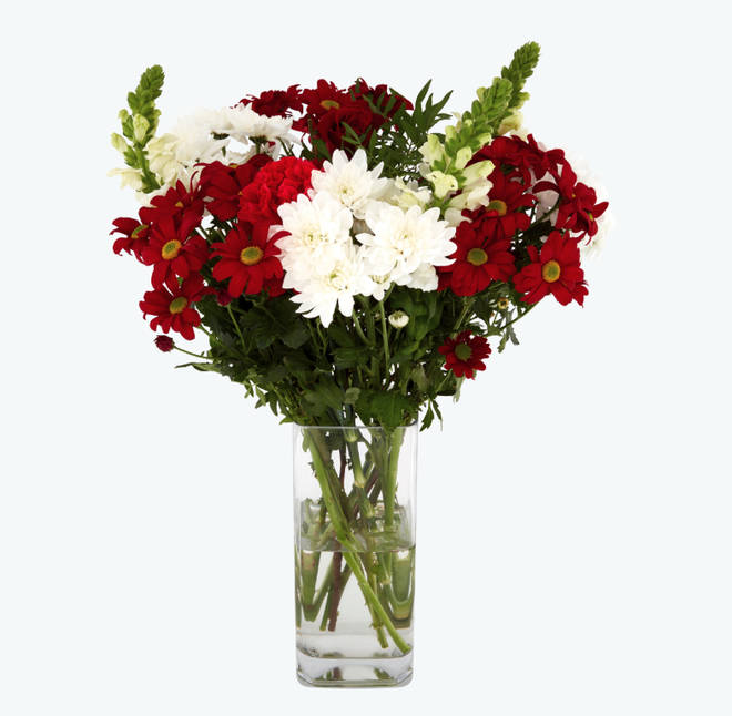 'Loving You' bouquet by Tesco