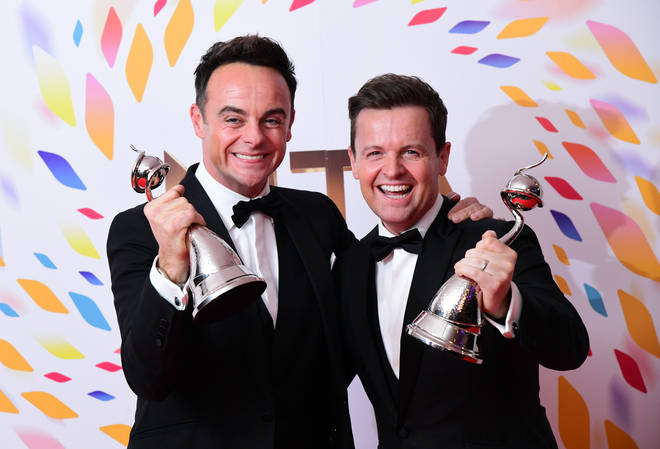 They scooped the Best Presenter gong for the 19th year on Tuesday