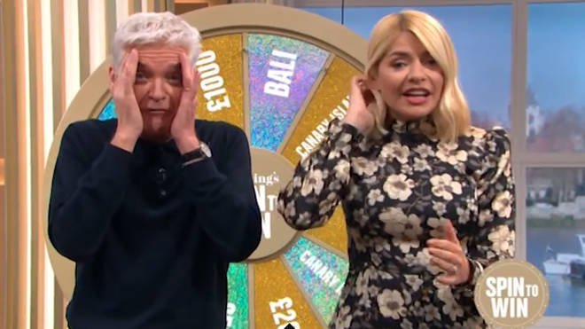 Holly and Phil were horrified when one caller said a naughty word